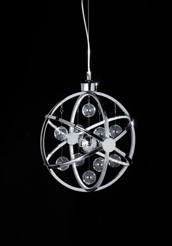 Led Chrome Pendant- Small (Double Insulated) BXMUNI-CH-S-17 (Class 2 Double Insulated)